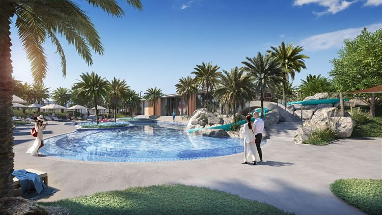 Bliss Townhouses At Arabian Ranches 3 - Pool Area