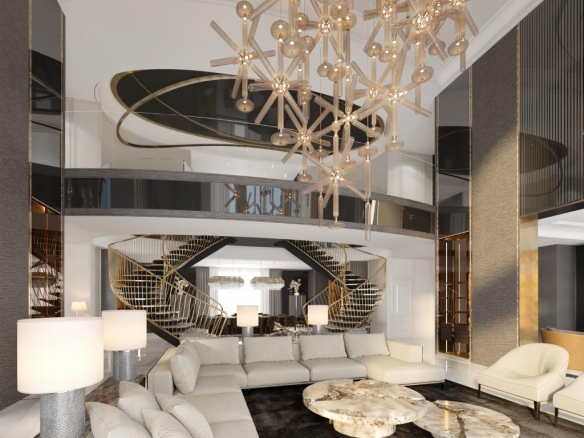 5BR Penthouse For Sale In 22 Carat At Palm Jumeirah